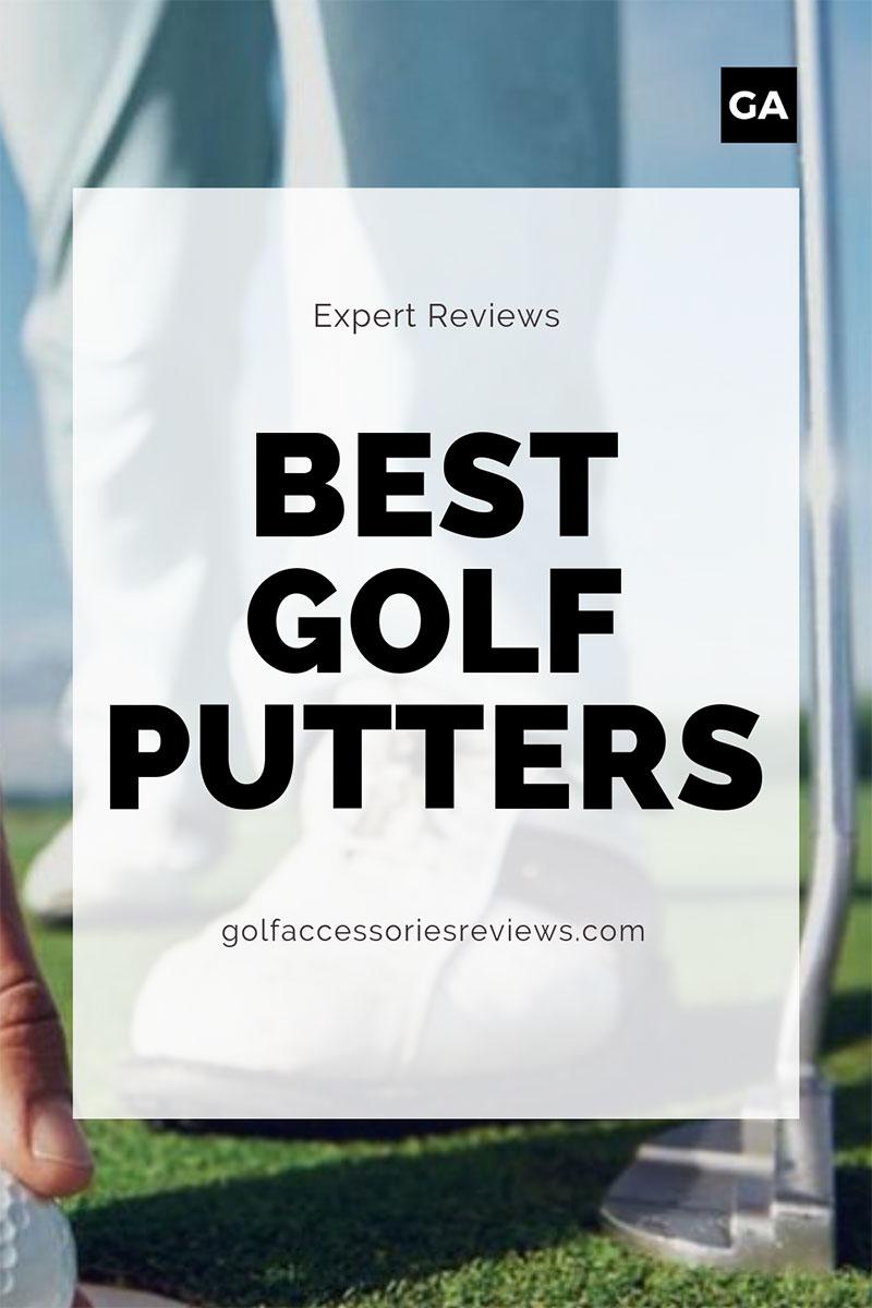 best golf putters pinterest graphic