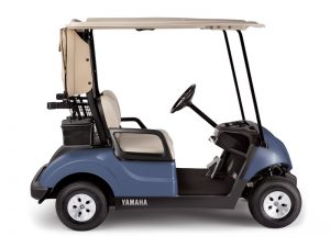Yamaha golf cart side on