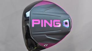 Bubba Watson signature pink Ping G400 LST driver
